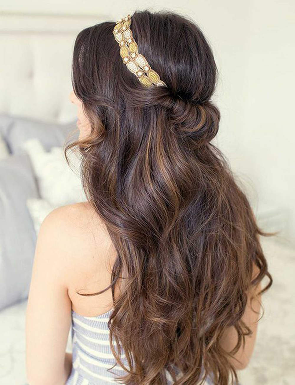 Coiffure Cheveux Long Headband