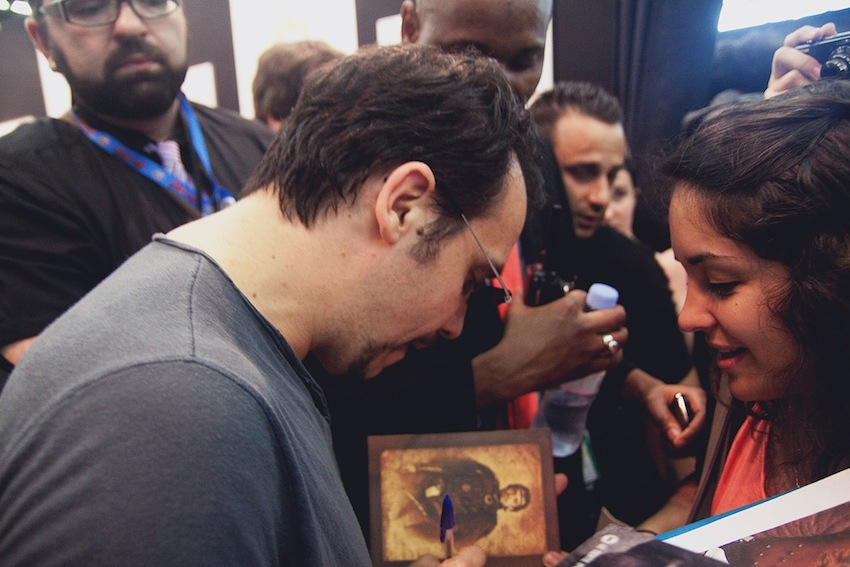Alexandre Astier au Comic Con / Japan Expo 2012