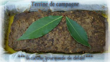 TERRINE DE CAMPAGNE