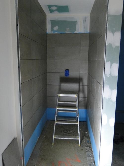 Faïences dans une douche
