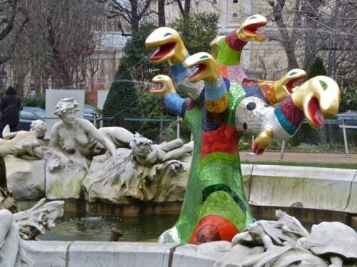 Niki de Saint-Phalle arbre de vie fontaine 8