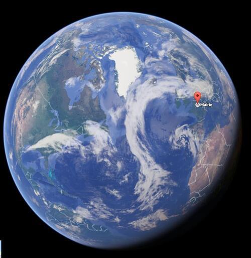 Le lieu de vie des élèves à différentes échelles : google map