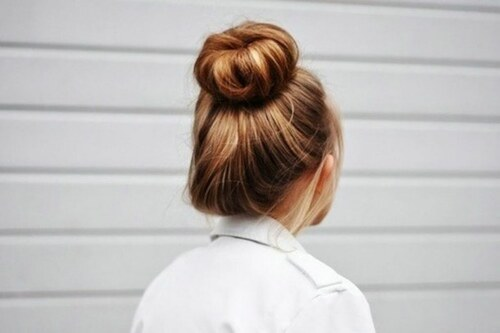 white, fashion, messy bun, dirty blonde, bun, hair