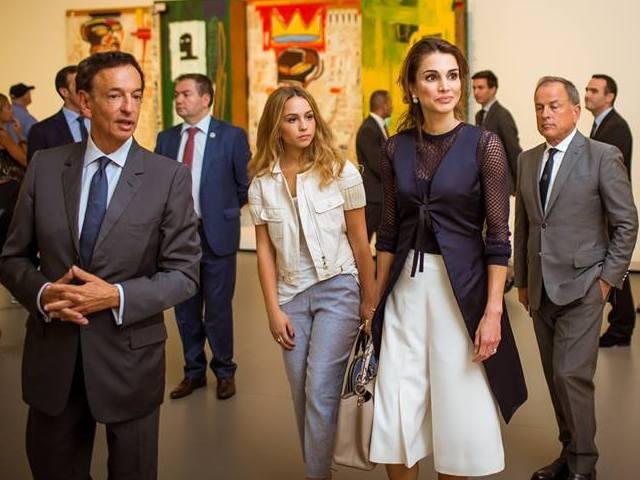 Rania à Paris