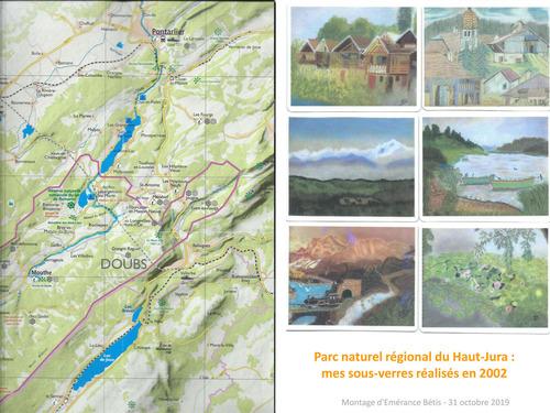Le Haut-Jura : carte et sommaire