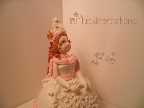 Princesse en Porcelaine à modeler