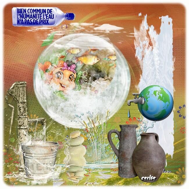 nouvelles participations au défi pour l'eau