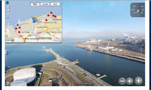 Visite virtuelle port