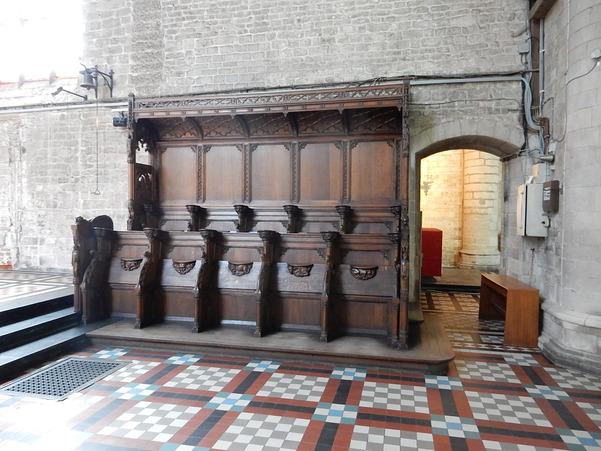 Détails dans l'église de la Cambre