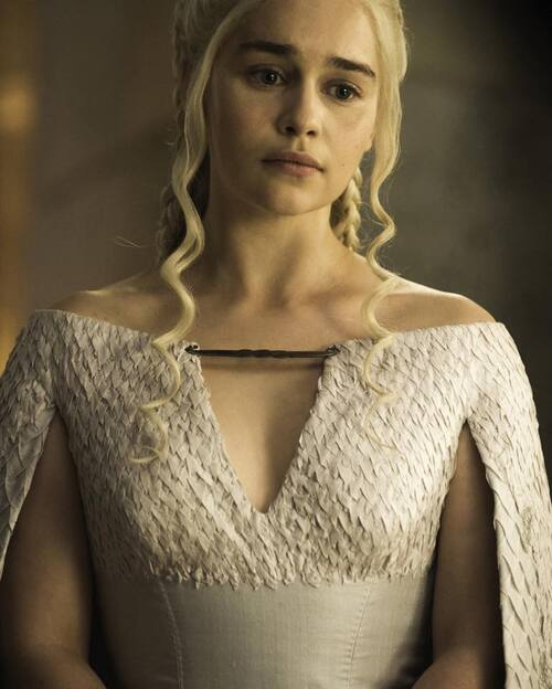 Nouvelle robe de Daenerys saison 5