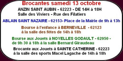 Brocantes,expos,opérette,course,etc.ce sont les loisirs dans les environs d'Arras ce week-end..