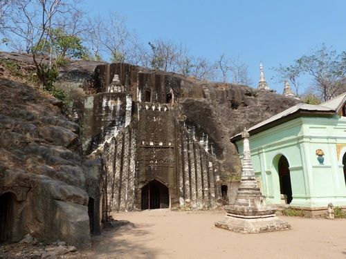 les grottes de Po Win Daung
