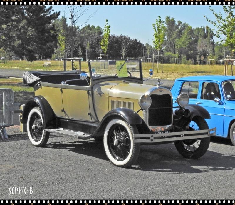 Une Américaine de 1928 .