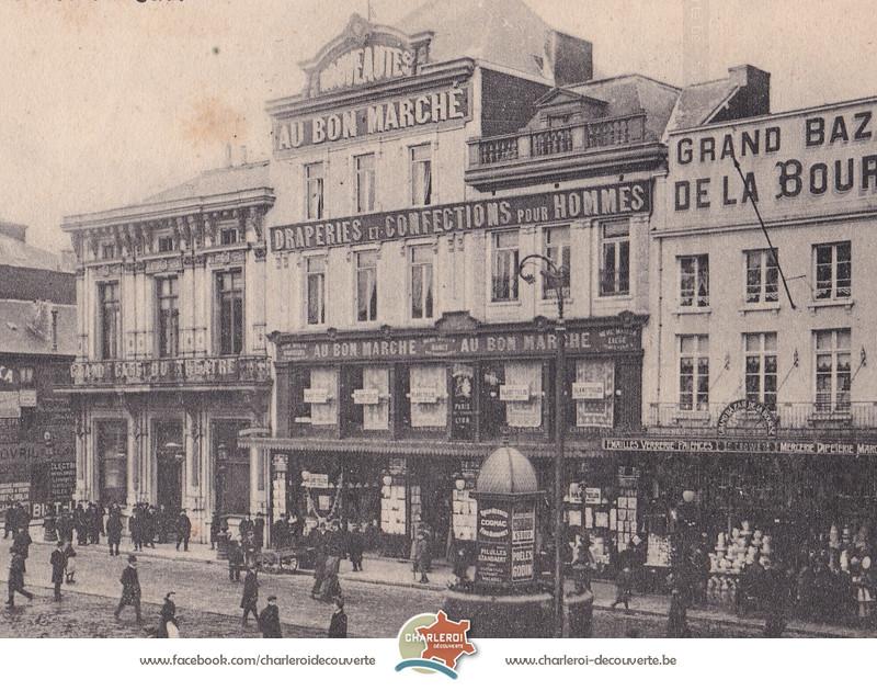 """Résultat de recherche d'images pour """"CHARLEROI VILLE BASSEle grand bazar"""""""