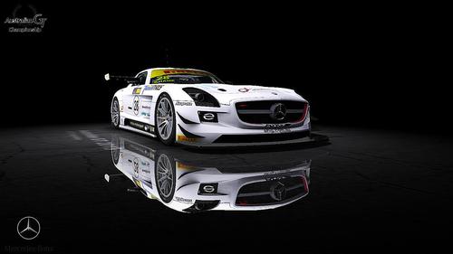 Team Erebus Motorsport Mercedes AMG SLS GT3