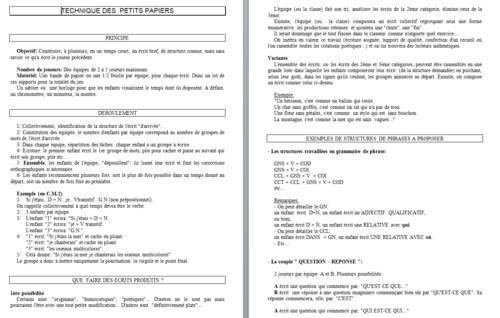 rallye liens : une activité pour un remplacement : jeux de français
