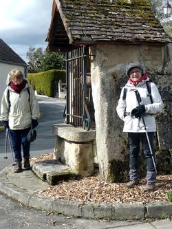 La randonnée du 11 avril à Fleury-sur-Orne et à Colomby-sur-Thaon