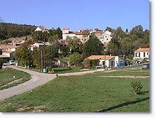 Fontienne, le village