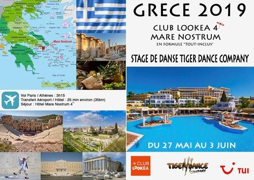 stage de danse en Grèce une aventure à expérimenter