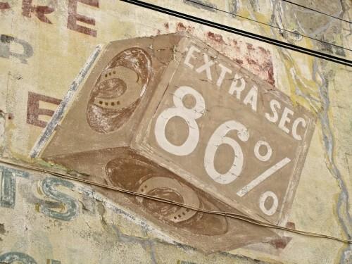 savon Fer à Cheval mur peint 3