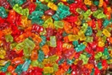 ... pour votre santé , l'abu de bonbon est dangereux pour la santé