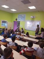 Témoignage L'école Jeanne D'arc St Sylvain d'Anjou le 19/10/18
