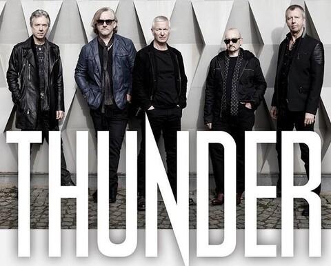 THUNDER - Les détails du prochain album live