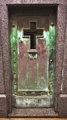 portes de caveaux (la recoleta)
