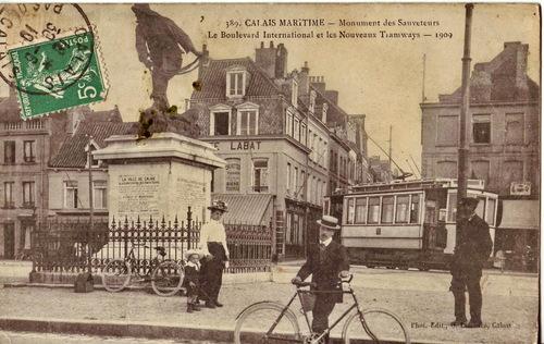 Le tramway à Calais