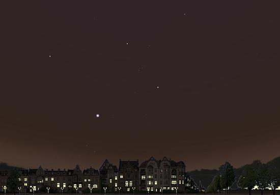 ciel ville lumière
