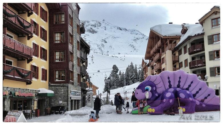 Une semaine à skier aux ARCS