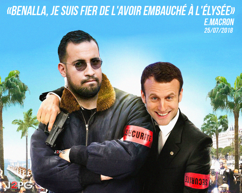 Benalla : l'enregistrement qui trouble - C à Vous - 31/01/2019 (video en bas)