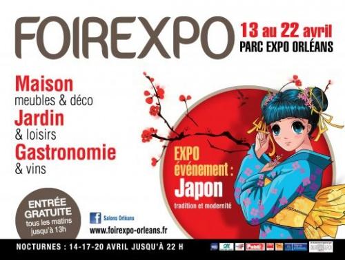 Foire Expo d'Orléans : Le Japon à l'honneur