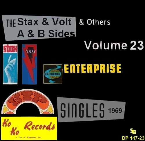 """ The Complete Stax-Volt Singles A & B Sides Vol. 23 Stax & Volt Records & Others "" SB Records DP 147-23 [ FR ]"