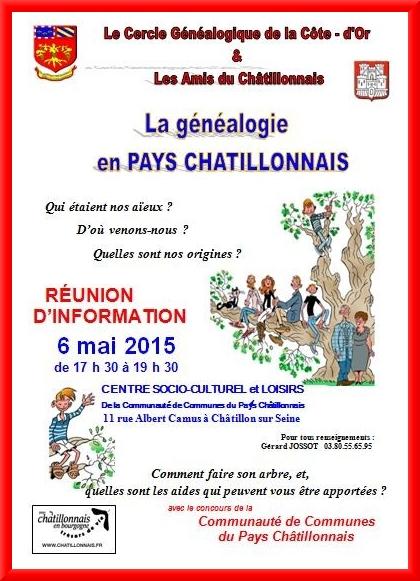 Généalogie en PAys Châtillonnais...