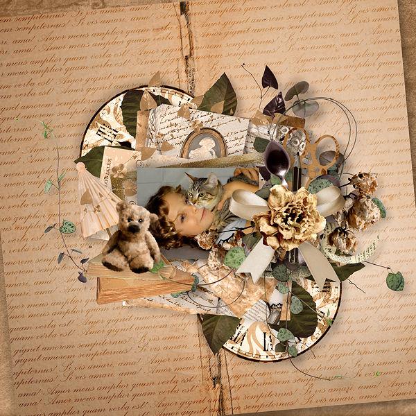 """""""Amour d'Antan"""" de Xuxper Designs"""