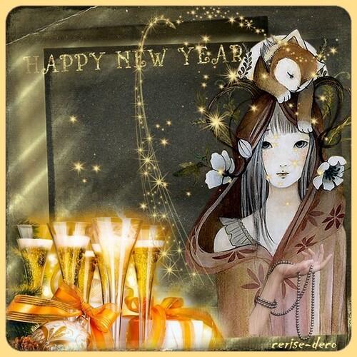 nouvel an meilleurs voeux gifs