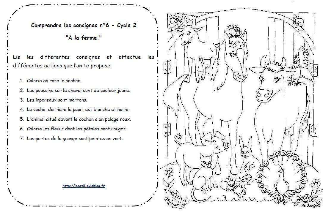 la ferme des animaux fiche de lecture pdf
