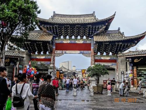 la rue principale de Jiangshui