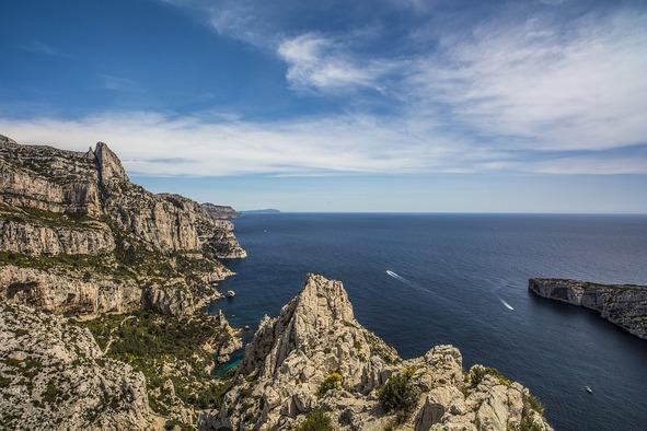 Marseille, Calanques, Provence, Mer, Bleu, France