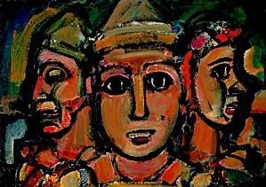 Rouault--Les-Trois-Clowns---Trio-Cirques-1928.jpg