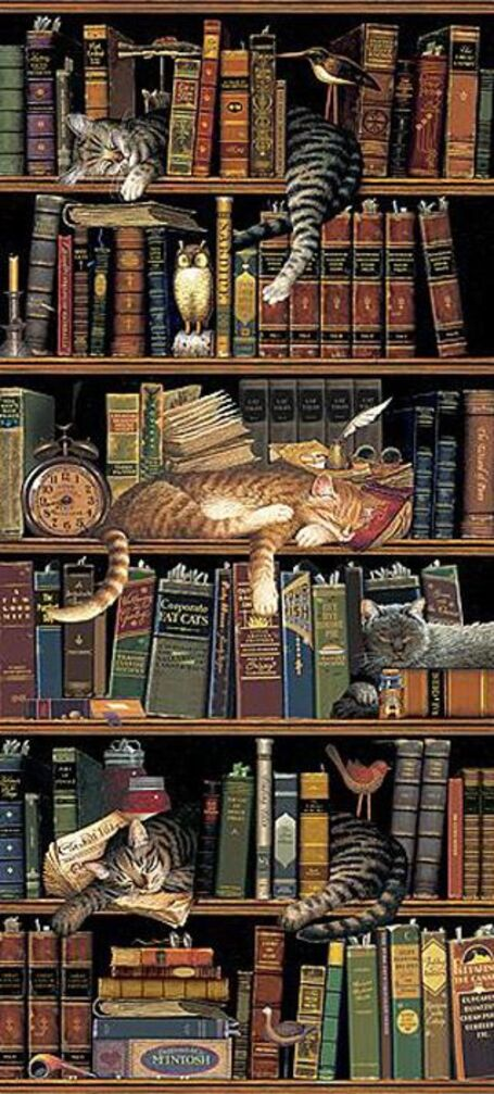 CHARLES WYSOCKI CLASSIC TAILS AMERICANA ART  Dempsey: I miss the days when my brother, our father and I hung out at the library.: