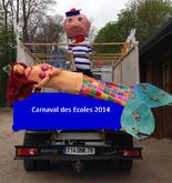 Carnaval des 4 écoles à Bures le 5 avril 2014 !