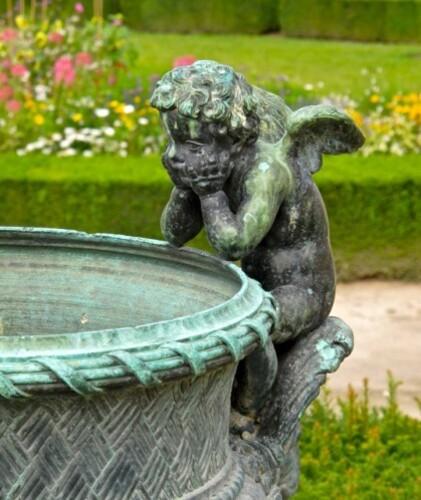 Versailles statue bronze angelot Ballin 8476