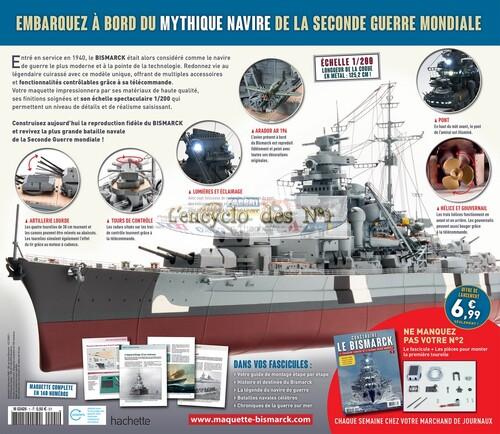 N° 1 Construire le Bismarck - Lancement