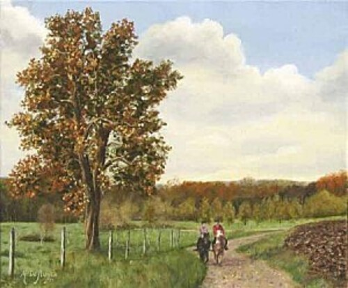 Peinture de : Michel de RUYCK