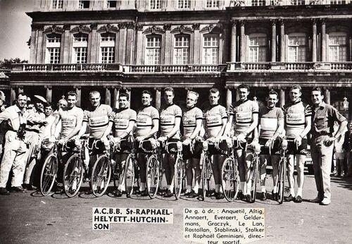 La belle équipe Helyett de 1962