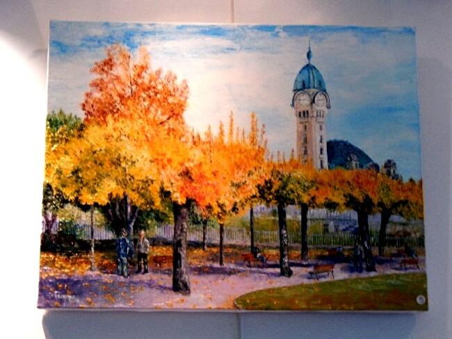 Condat sur Vienne: Quand l'aquarelle s'exprime ......