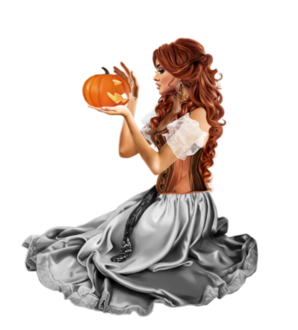 Woman 3d - Halloween