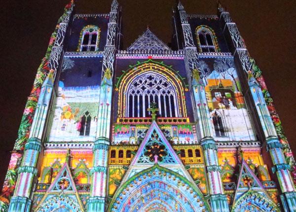 Son et lumière Cathédrale de Nantes